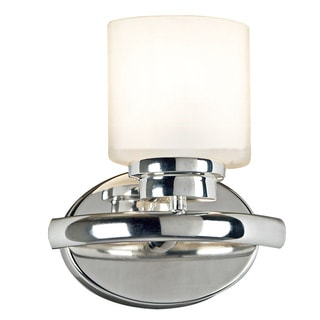 Bow 1-light Nickel Sconce