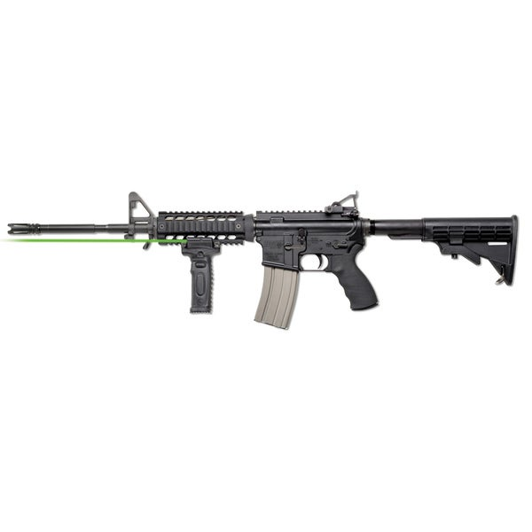 Vertical Foregrip Laser/ Light Green Dual-sided Activation Laser Grip