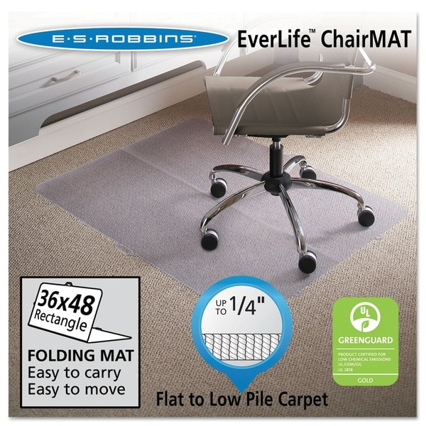 ES Robbins Clear Rectangle Foldable Series Mat