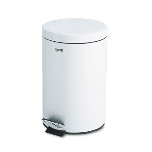 Rubbermaid Economical 3.5-Gallon White Step Can
