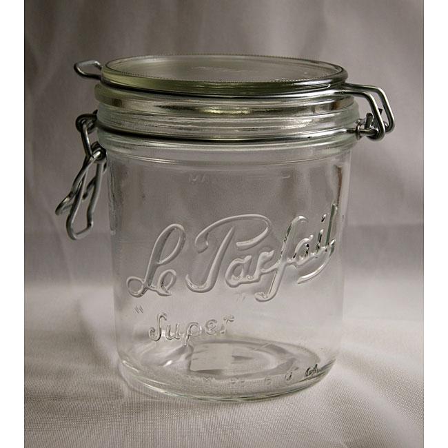 Le Parfait 17.5-oz Gasket Canning Jar (Pack of 6)