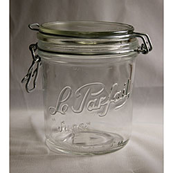 Le Parfait 17.5-oz Gasket Canning Jar (Pack of 6)