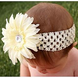 Headbandz Cream Daisy Headband