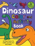 Dinosaur Color and Activity Book (Paperback)