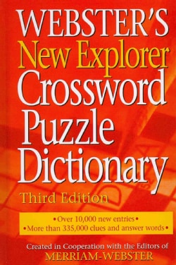 Webster's New Explorer Crossword Puzzle Dictionary (Hardcover)