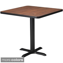 Mayline Bistro Breakroom Dining Height Square Table