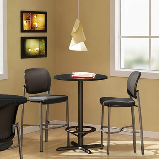 Mayline Bistro Bar-height 30-inch Round Table