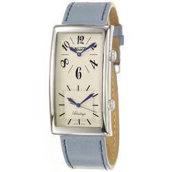 Tissot Men's T56162379 'Heritage' Stainless Steel and Blue Leather Watch