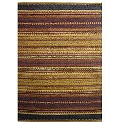 Hand-woven Mohawk Brown Jute Rug (6' x 9')