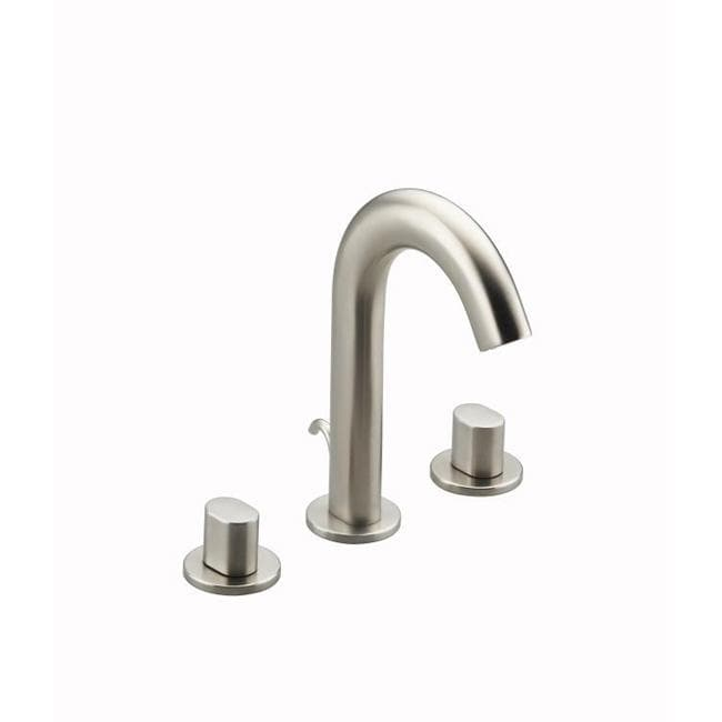 Kohler Worth Faucet : Kohler K-280-9B-BN Vibrant Brushed Nickel Antique Widespread Lavatory ...
