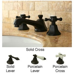 Metropolitan Oil-rubbed Bronze Widespread Bathroom Faucet