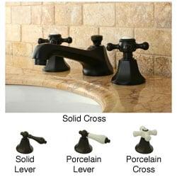Metropolitan Oil-rubbed Bronze Widespread Bathroom Faucet