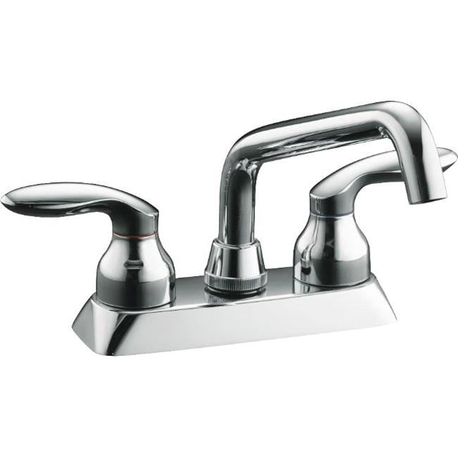 Kohler K-15270-4-CP Polished Chrome Coralais Laundry Sink Faucet With ...