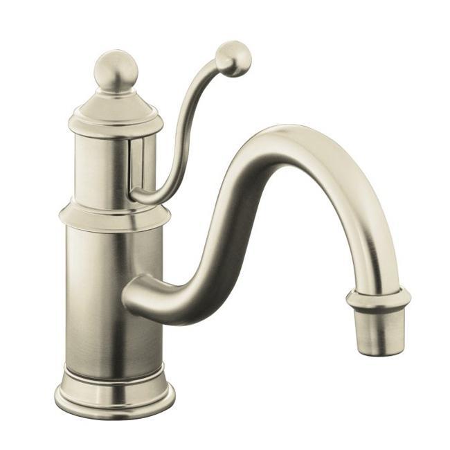 Kohler Antique Kitchen Faucet: Kohler K-168-BN Vibrant Brushed Nickel Antique Single