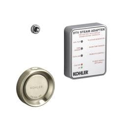 Kohler K-1737-BN Vibrant Brushed Nickel Steam Adapter Kit