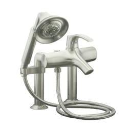 Kohler K-18486-4-BN Vibrant Brushed Nickel Symbol Bath Faucet With Handshower