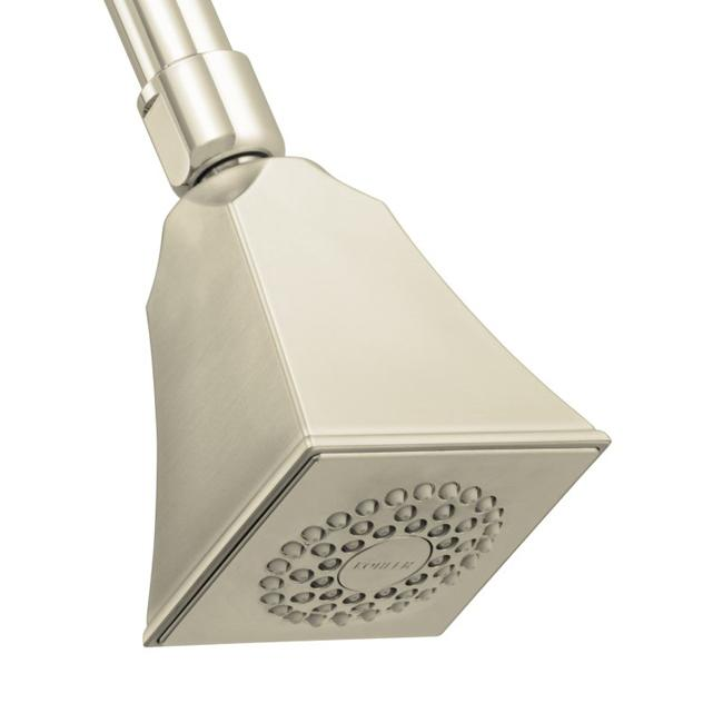Kohler K-449-BN Vibrant Brushed Nickel Memoirs Single-Function Showerhead With Stately Design