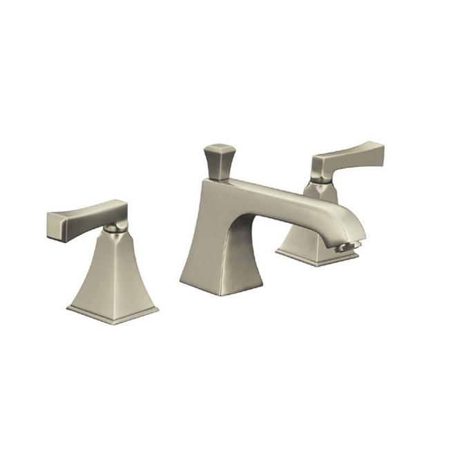Kohler K-454-4V-BN Vibrant Brushed Nickel Memoirs Widespread Lavatory ...