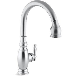 Kohler K-690-G Brushed Chrome Vinnata Kitchen Sink Faucet