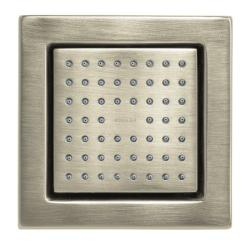 Kohler K-8002-BN Vibrant Brushed Nickel Watertile Square 54-Nozzle Bodyspray