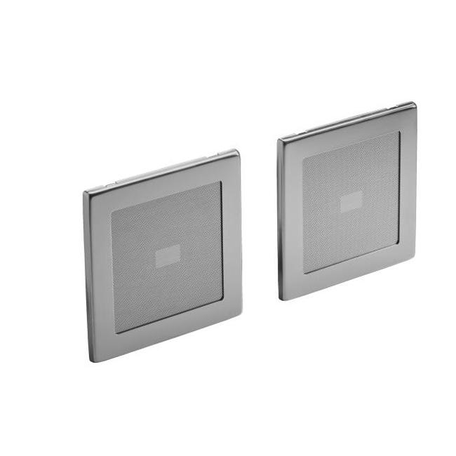 Kohler K-8033-G Brushed Chrome Soundtile Speakers (Pair Of Speakers)
