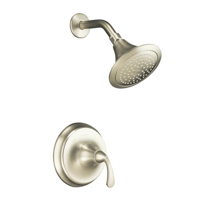 Kohler Worth Faucet : Kohler K-T10276-4-BN Vibrant Brushed Nickel Forte Rite-Temp Pressure ...