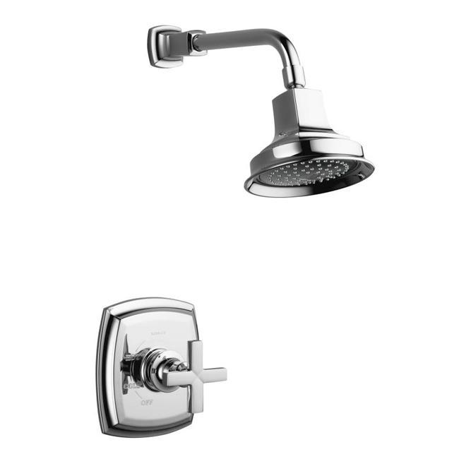 Kohler K-T16234-3-CP Polished Chrome Bath And Shower Trim