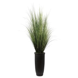 Laura Ashley 7-foot Artificial Grass Floor Plant