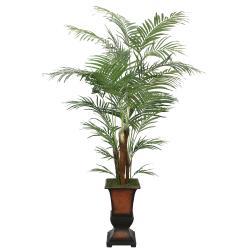Laura Ashley 7-foot Artificial Areca Palm Tree