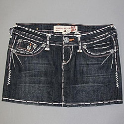 Laguna Beach 'Seal Beach' Women's Mini Denim Skirt