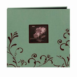 Pioneer Photo Albums Aqua Memory Book (20 Bonus Pages)