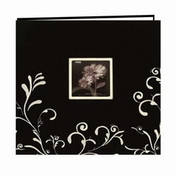 Pioneer Photo Albums Black Memory Book (12 x 12)