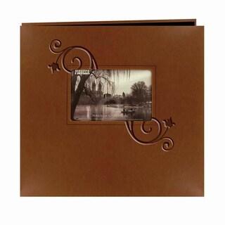 Pioneer Photo Albums Brown Leatherette Memory Book (20 Bonus Pages)