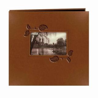 Pioneer Embossed Leatherette Post 12-inch Bound Album