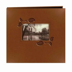Pioneer Photo Albums Brown 12.12-inch Leatherette Memory Book (20 Bonus Pages)