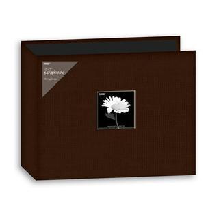 Pioneer 12x12-inch Brown 3-Ring Memory Book Binder (20 Bonus Pages)
