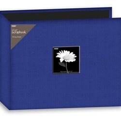 Pioneer 12x12-inch Cobalt Blue 3-Ring Memory Book Binder (20 Bonus Pages)