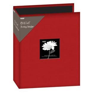 Pioneer 3-Ring Fabric 8.5 x 11-inch Album