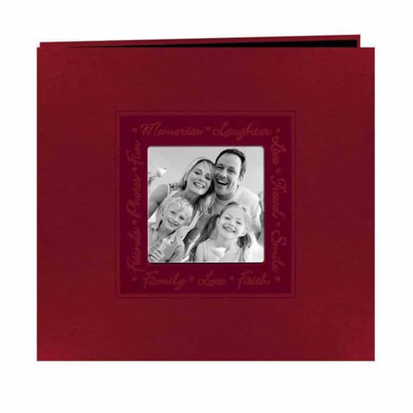Pioneer Photo Red Leatherette Memory Book