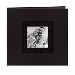 Pioneer Photo Black Leatherette Memory Book