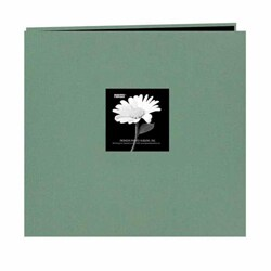 Pioneer Photo Aqua Frame Fabric Memory Book (20 Bonus Pages)