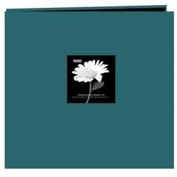 Pioneer Photo Teal Frame Fabric Memory Book (20 Bonus Pages)