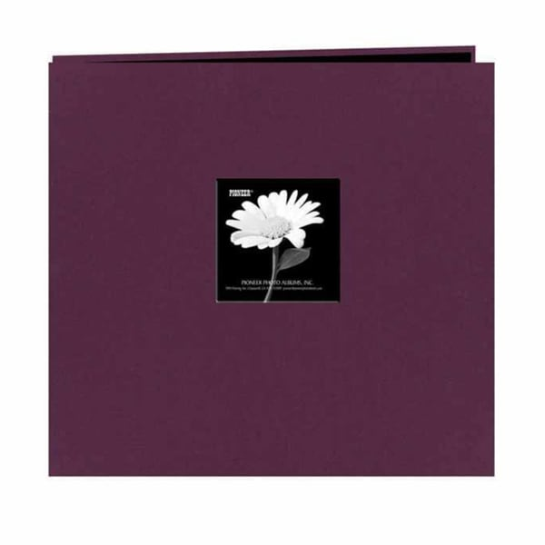 Pioneer Photo Purple Frame Fabric Memory Book