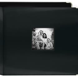 Pioneer Photo Black Leatherette 3-ring Memory Book (Bonus 20 Pages)