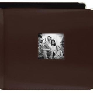 Pioneer Photo Brown Leatherette 3-ring Memory Book (20 Bonus Pages)