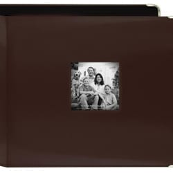 Pioneer Photo Brown Leatherette 3-ring Memory Book (20 Bonus Pages)