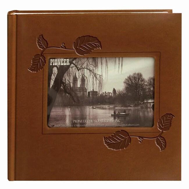 Pioneer 200-pocket Brown Leatherette Photo Album (Pack of 2)