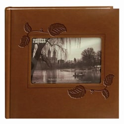Pioneer 200-pocket Brown Leatherette Photo Album (Pack of 2)