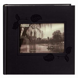Pioneer 200-pocket Black Leatherette Photo Album (Pack of 2)