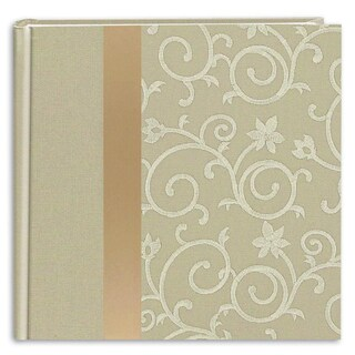 Pioneer 200-pocket Ivory Fabric Photo Album (Pack of 2)